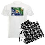 Christmas Island Flag Men's Light Pajamas