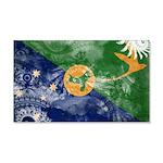 Christmas Island Flag 22x14 Wall Peel