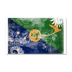 Christmas Island Flag Car Magnet 20 x 12