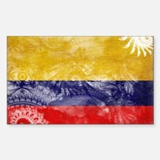 Colombia Flag Decal