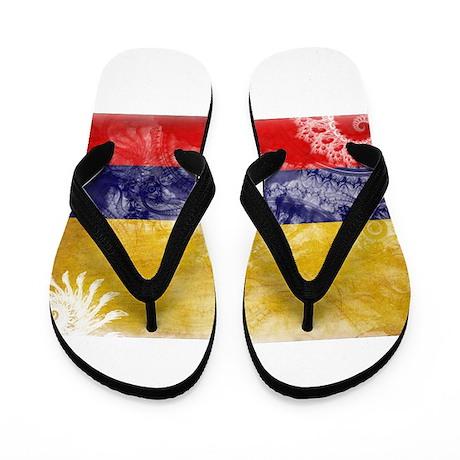 Colombia Flag Flip Flops