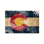 Colorado Flag Rectangle Magnet (100 pack)