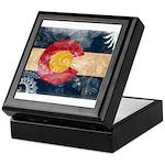 Colorado Flag Keepsake Box