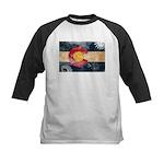 Colorado Flag Kids Baseball Jersey