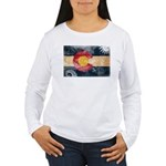 Colorado Flag Women's Long Sleeve T-Shirt