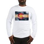 Colorado Flag Long Sleeve T-Shirt