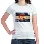 Colorado Flag Jr. Ringer T-Shirt