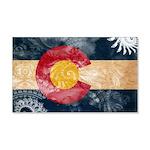 Colorado Flag 22x14 Wall Peel