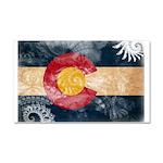 Colorado Flag Car Magnet 20 x 12