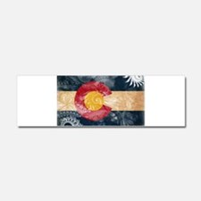 Colorado Flag Car Magnet 10 x 3