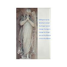 Serenity Prayer Rectangle Magnet