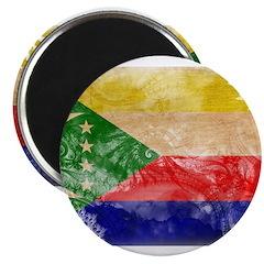 Comoros Flag Magnet
