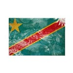 Congo Flag Rectangle Magnet (10 pack)