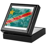Congo Flag Keepsake Box