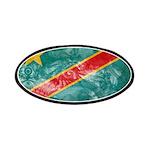Congo Flag Patches