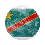 Congo Flag Ornament (Round)
