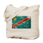 Congo Flag Tote Bag