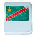 Congo Flag baby blanket