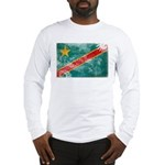 Congo Flag Long Sleeve T-Shirt