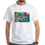Congo Flag White T-Shirt