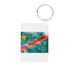 Congo Flag Keychains