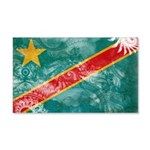 Congo Flag 22x14 Wall Peel