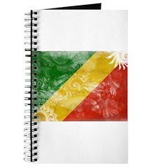 Congo Republic Flag Journal
