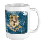 Connecticut Flag Large Mug