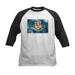 Connecticut Flag Kids Baseball Jersey