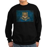 Connecticut Flag Sweatshirt (dark)