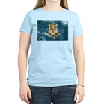 Connecticut Flag Women's Light T-Shirt