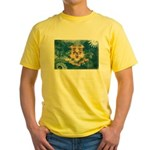 Connecticut Flag Yellow T-Shirt