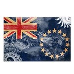 Cook Islands Flag Postcards (Package of 8)