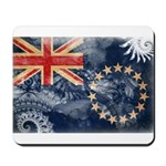 Cook Islands Flag Mousepad