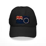 Cook Islands Flag Black Cap