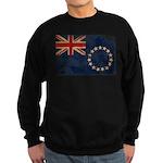 Cook Islands Flag Sweatshirt (dark)