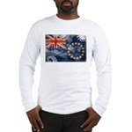 Cook Islands Flag Long Sleeve T-Shirt