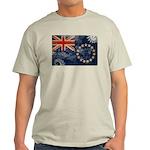 Cook Islands Flag Light T-Shirt