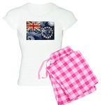 Cook Islands Flag Women's Light Pajamas