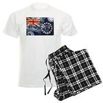 Cook Islands Flag Men's Light Pajamas