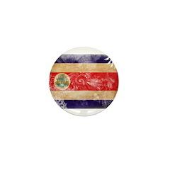 Costa Rica Flag Mini Button (100 pack)