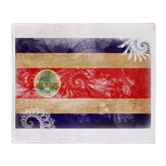 Costa Rica Flag Throw Blanket