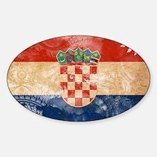 Croatia Flag Decal