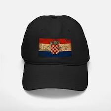 Croatia Flag Baseball Cap