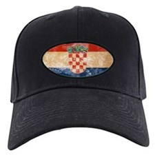 Croatia Flag Baseball Hat