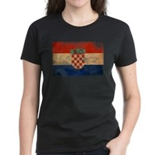 Croatia Flag Tee