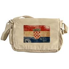 Croatia Flag Messenger Bag