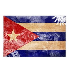 Cuba Flag Postcards (Package of 8)