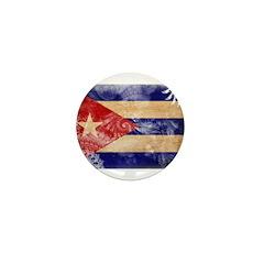 Cuba Flag Mini Button (10 pack)