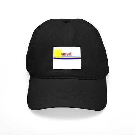 Amiyah Black Cap